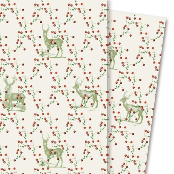 Geschenkpapier: Beerenwild