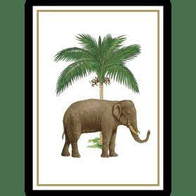 Grußkarte: Unter Palmen