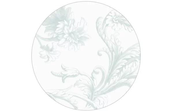 Dezente und doch barocke Tapete