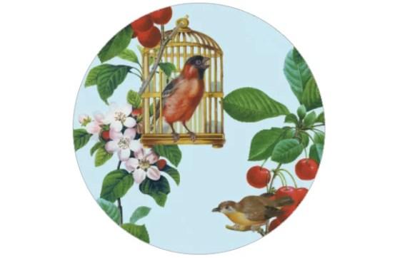 Apfelkirsche - die Tapete für Gartenfreunde