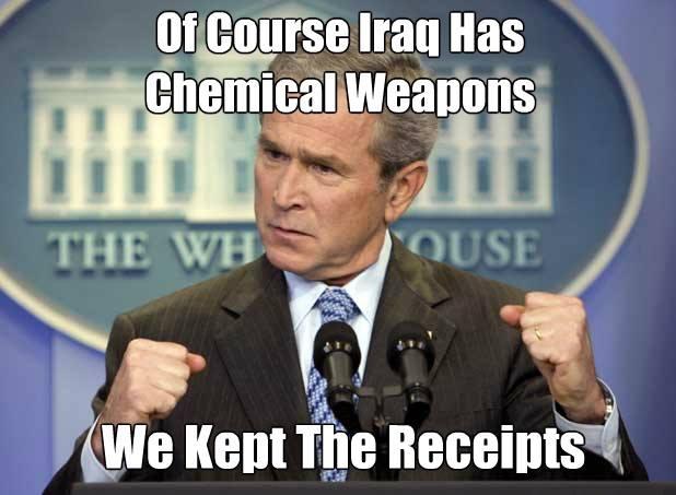 GW & the WMD's