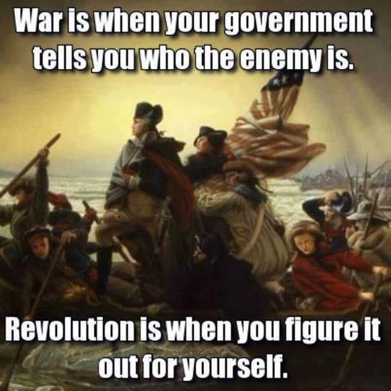War - revolution