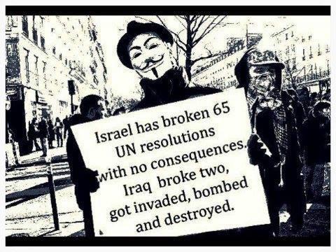 Broken UN resolutions