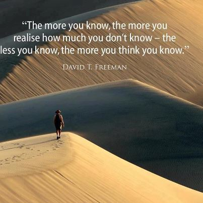 Knowing!