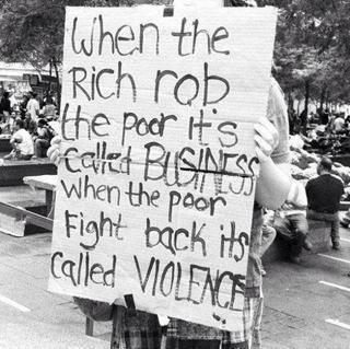 Business & violence!