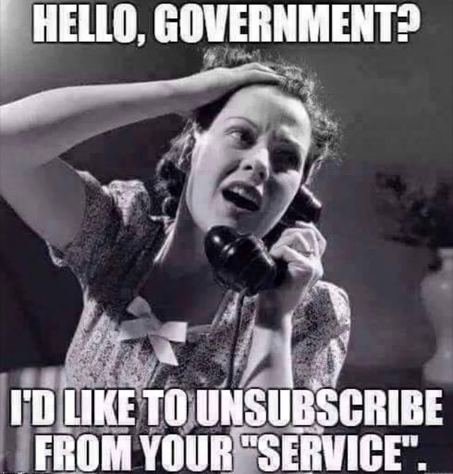 Bye Bye Government