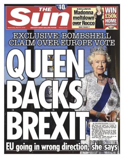 Queen for Brexit