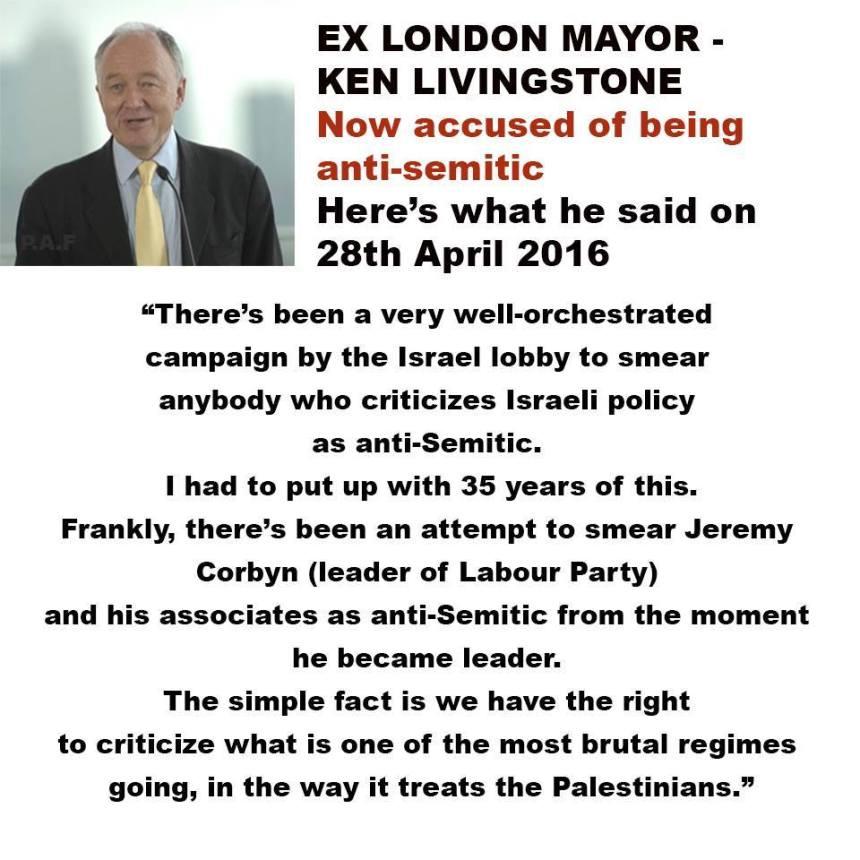 Anti-Semitism my arse!