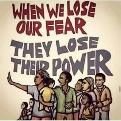 Lose our fear