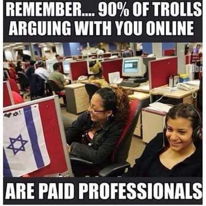 Paid trolls
