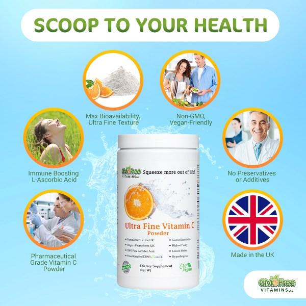 Quali-C Ultra Fine Vitamin C - Key features