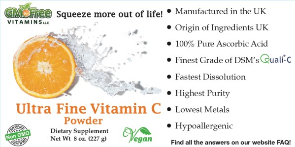 Ultra Fine Vitamin C powder - Quali-C 8oz