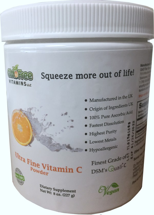 8oz Ultra Fine Vitamin C Powder