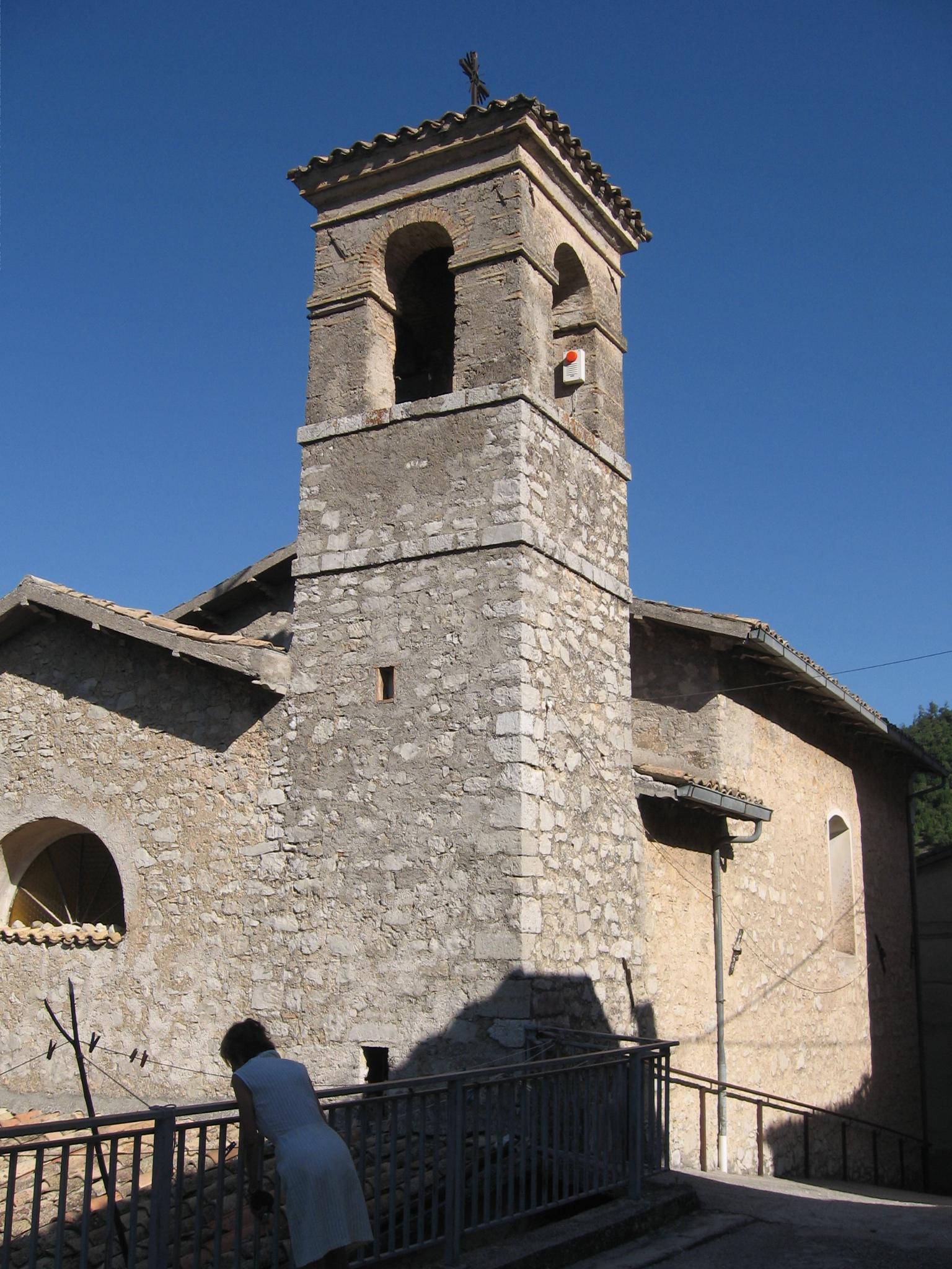 La Chiesa costruita dai Sanvitani nel 1885