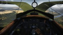 From the cockpit