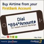 First Bank Mobile Money Service: How To Transfer, Buy Airtime And Check Bank Account Balance