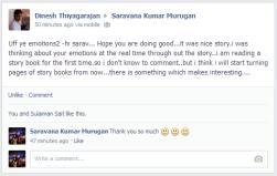 Dinesh on FB Timeline