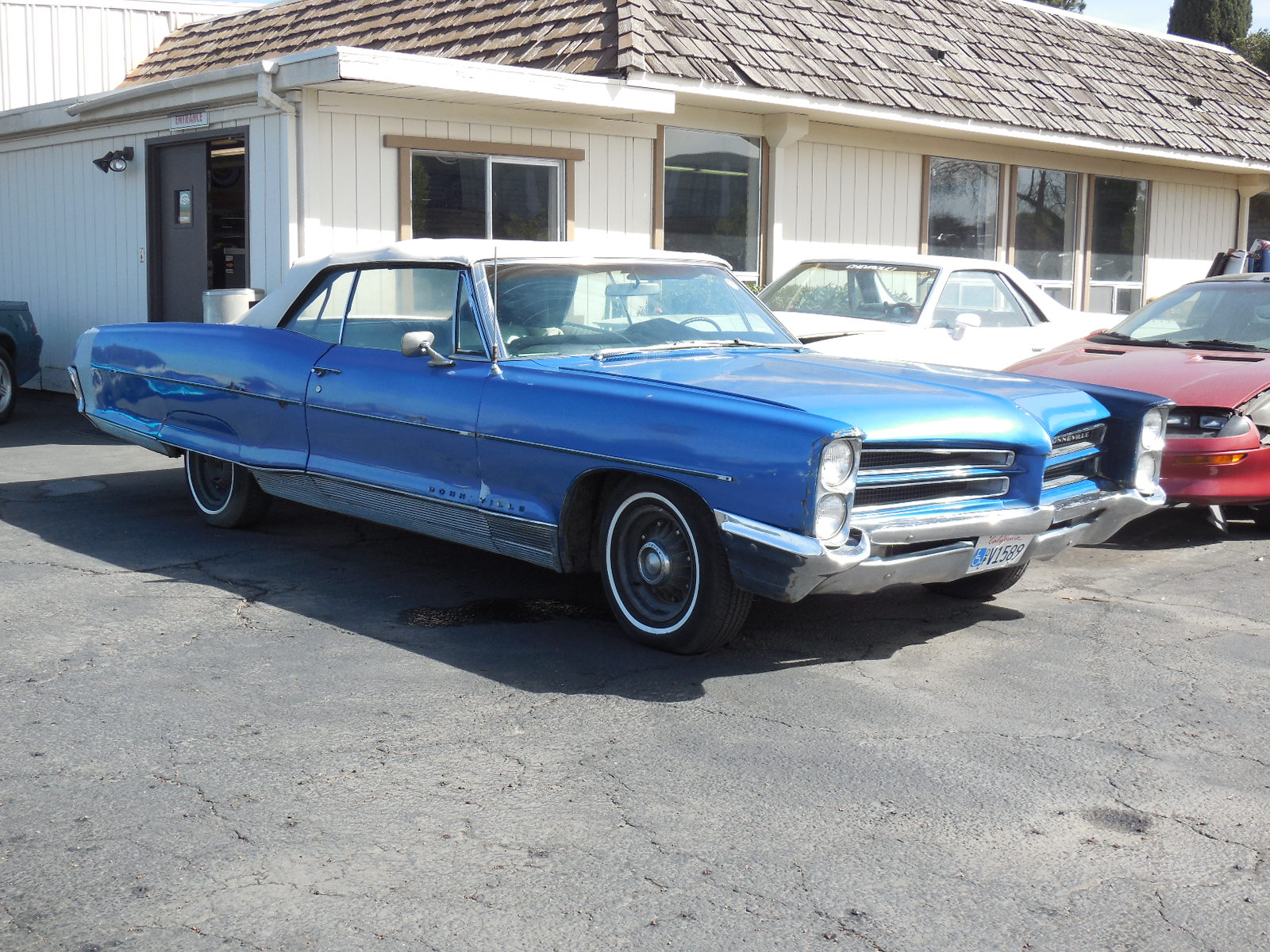 1966 Chevy Impala Convertible Project