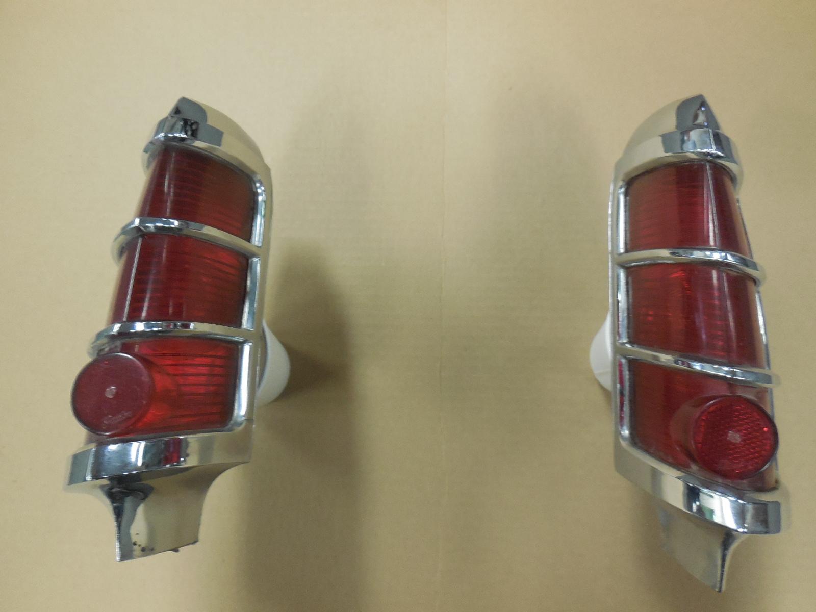 1963 Pontiac Catalina Bonneville Left Right Tail Light