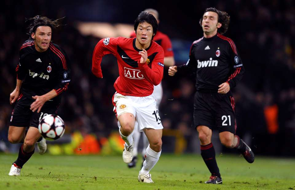 Remembering when Park Ji-sung pocketed Andrea Pirlo in the Champions League in 2010 | GiveMeSport