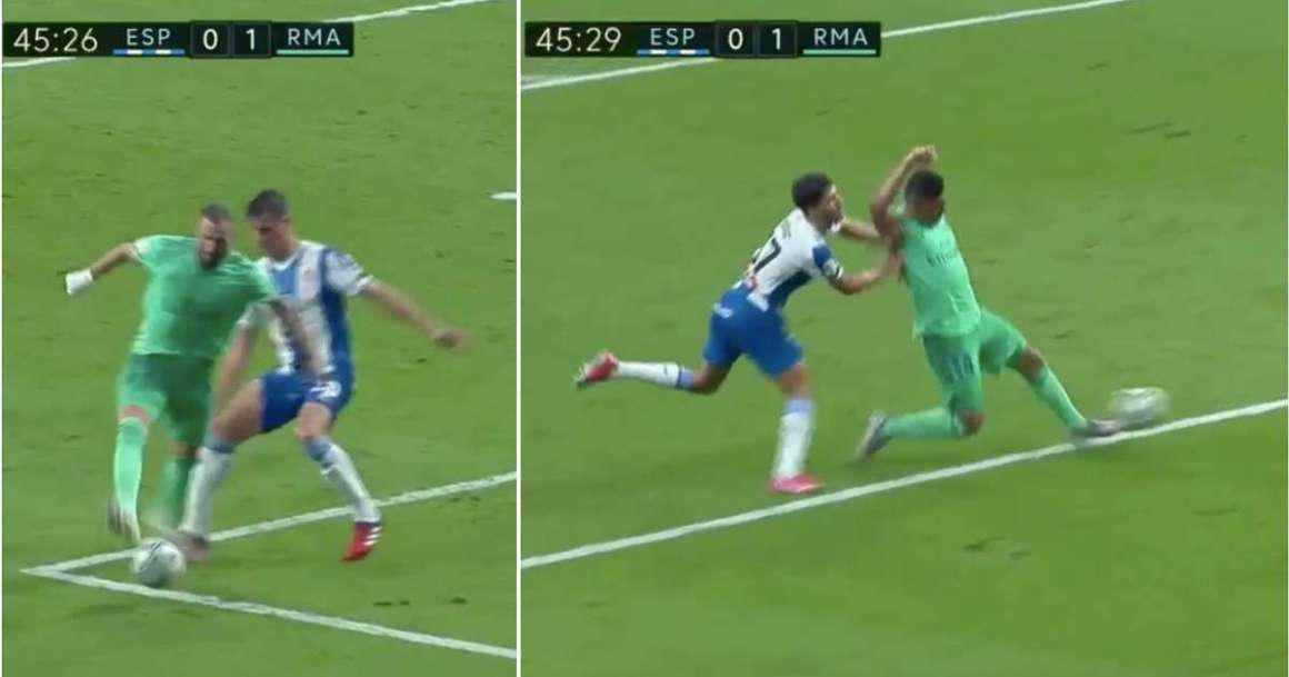 Karim Benzema produces incredible assist for Casemiro during ...