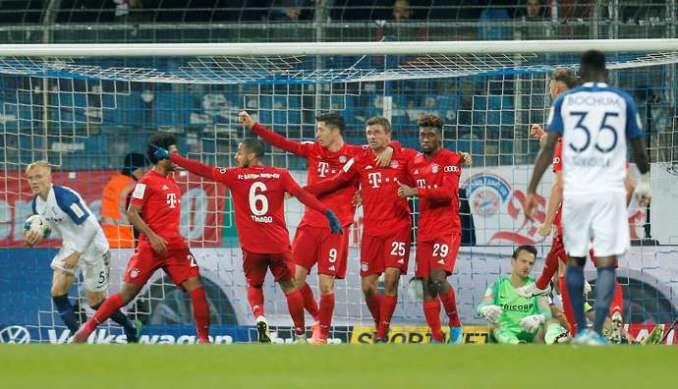 Bayern won the Bundesliga title