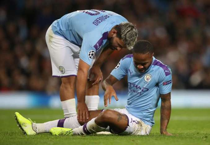 Sterling and Aguero combine well