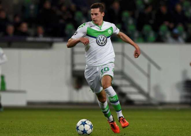 Draxler with Wolfsburg