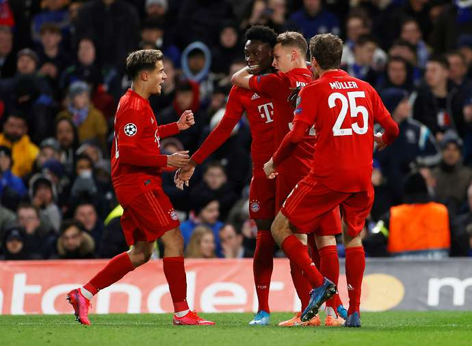 Bayern Munich's duo are in