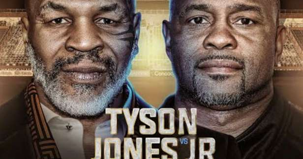 Mike Tyson: How to watch Tyson vs Roy Jones Jr, UK start time & how much it  costs | GiveMeSport