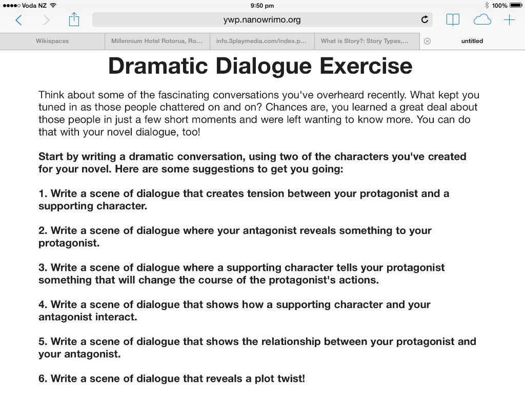 Creative Writing How To Write Dialogue Tasks Mrs