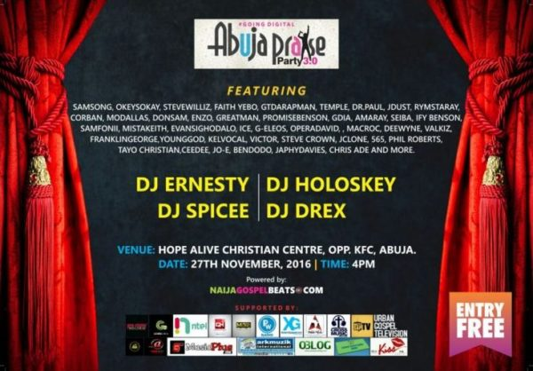 AbujaPraise Party