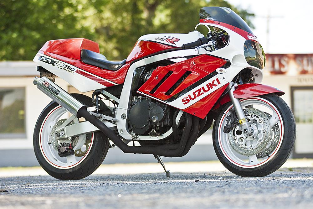 GSX-R750 Resto-mod in Bikebound Magazine
