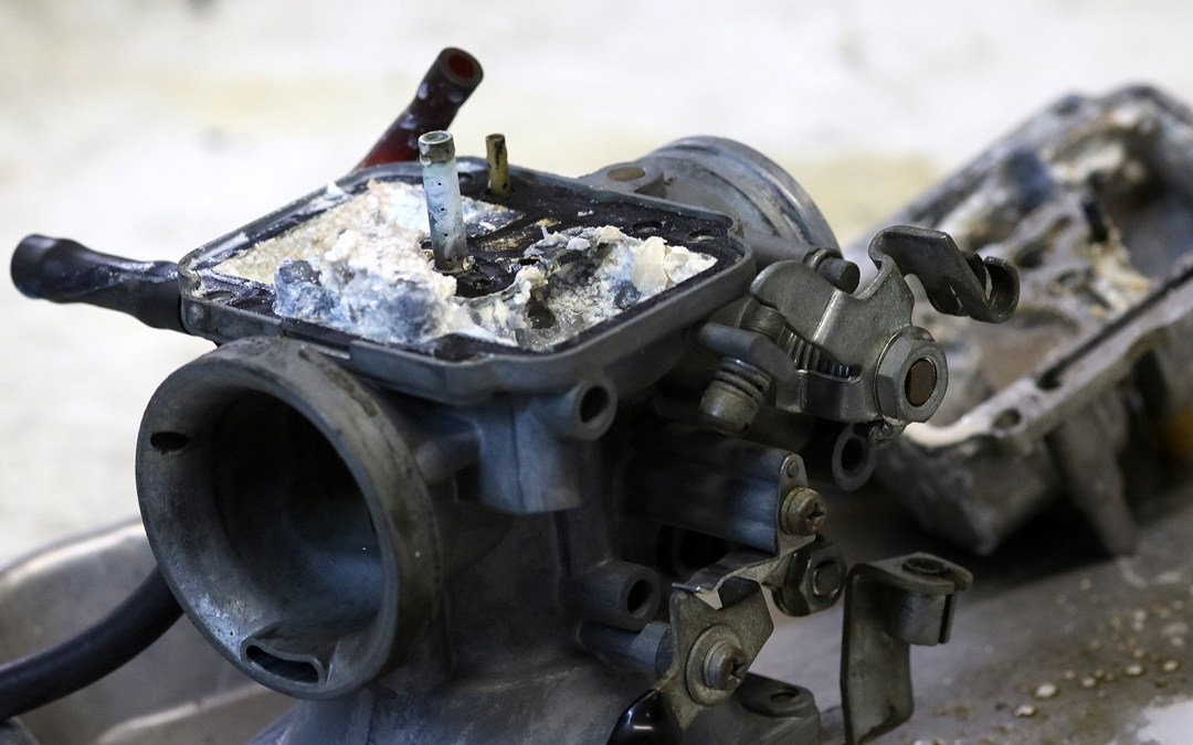 Some Really Ugly Shit During a Carburetor Service