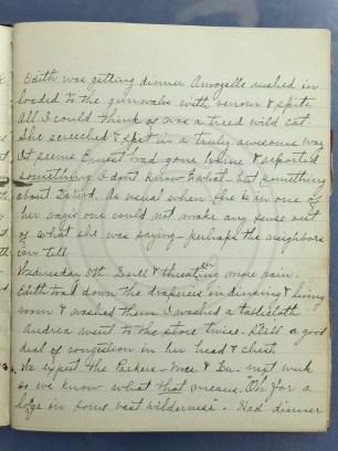 1927.01.04-05 - Annie F Morris diary