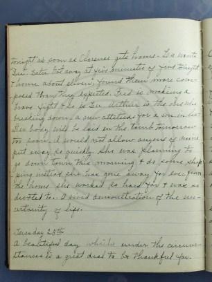 1927.01.24-25 - Annie F Morris diary