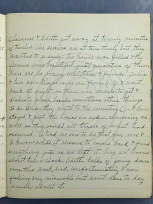 1927.01.25 - Annie F Morris diary