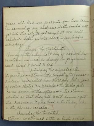 1927.02.16-20 - Annie F Morris diary