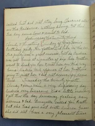 1927.02.22-24 - Annie F Morris diary