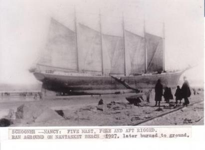 nancy with sails