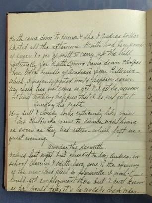 1927.03.05-07 - Annie F Morris diary