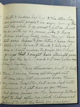 1927.05.02-03 - Annie F Morris diary