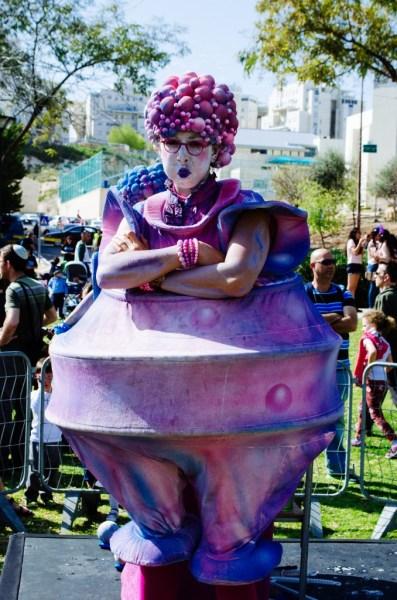 Purim parade fun.
