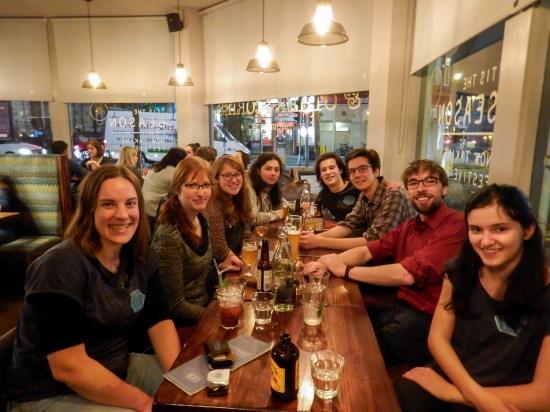Celebrating Coding Club's first birthday!
