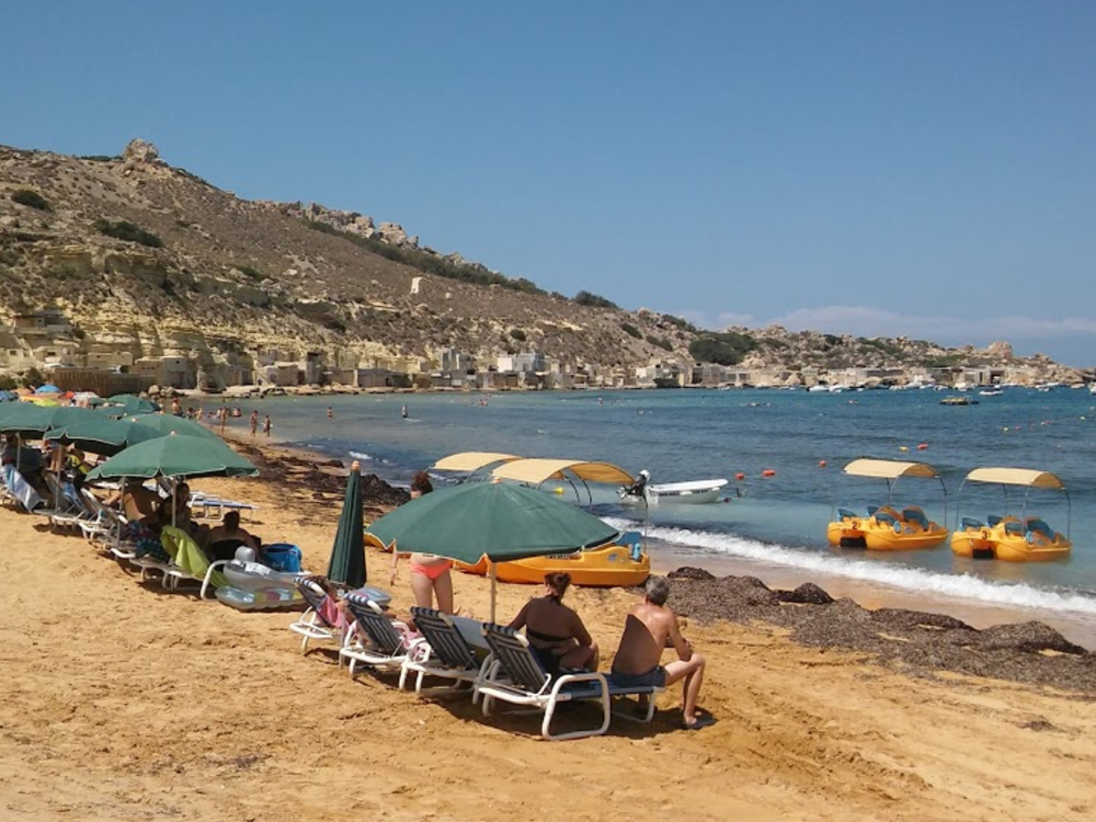 Beach Facilities offered by Ġnejna Watersports