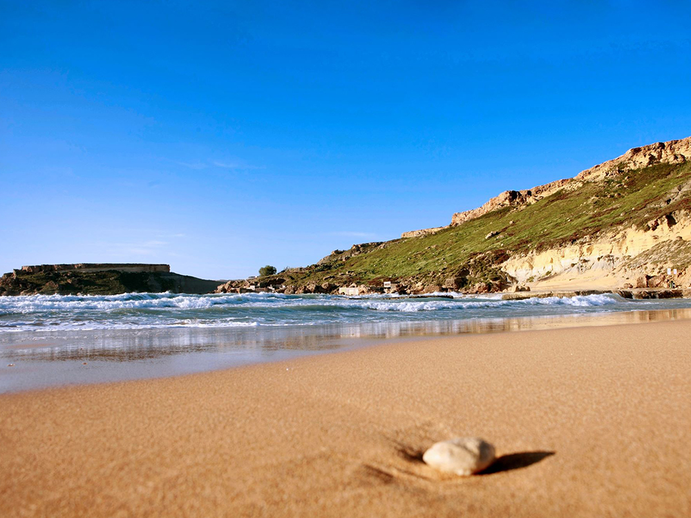 Beautiful and unique beaches in Malta