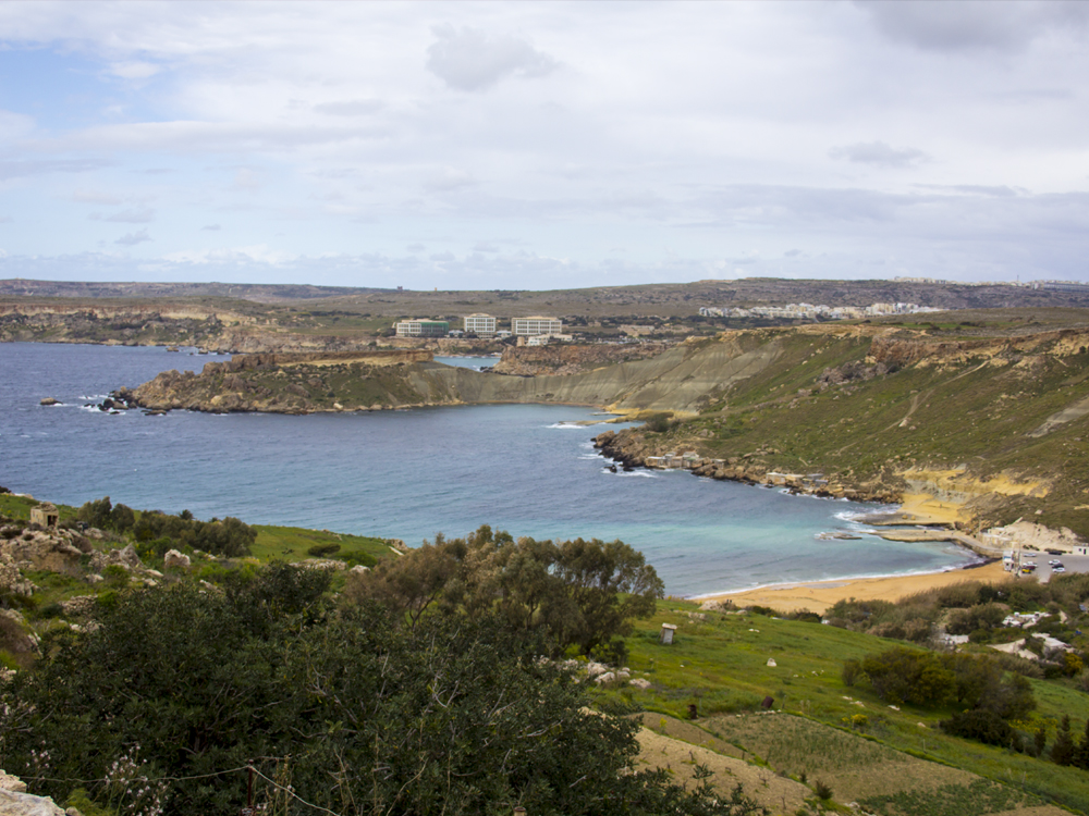 Photo of the North West Coast of Malta