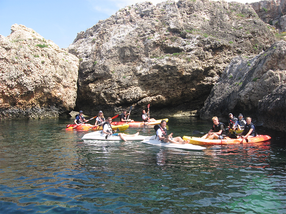 Kayak tours in Malta
