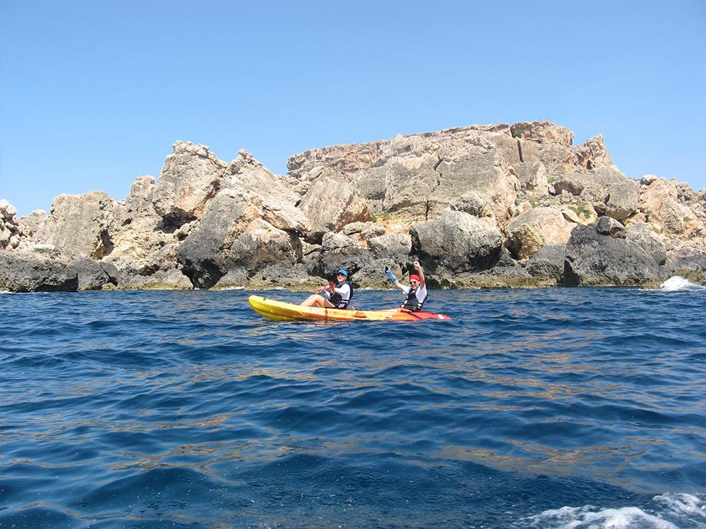 Kayak rentals in Malta