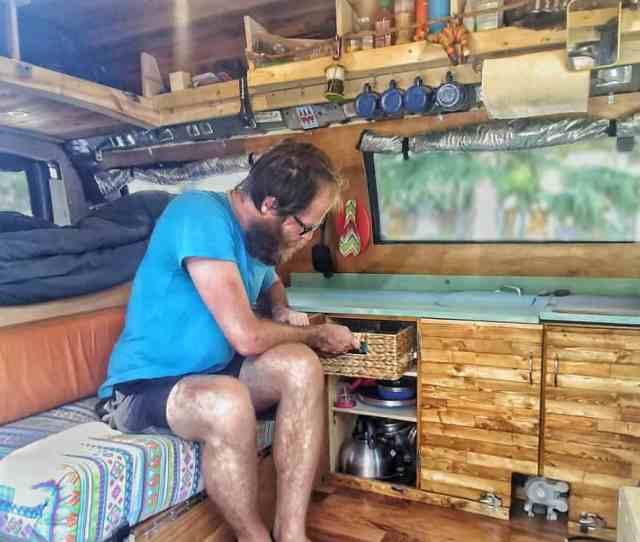 Storage Ideas For Your Van Build